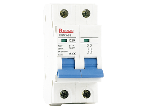 Miniature Circuit Breaker<br/>(MCB)<br/>RNM3-63